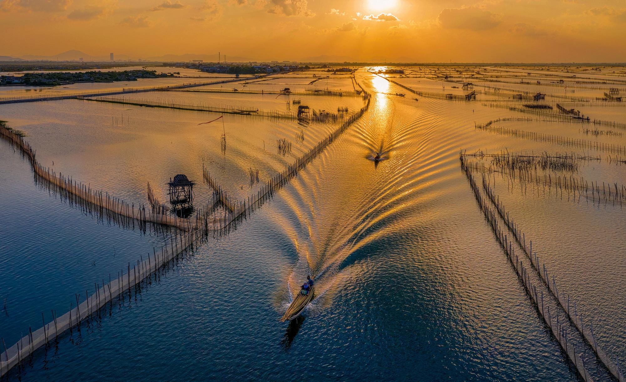 Explore the aquatic wilderness of this hidden lagoon in central Vietnam