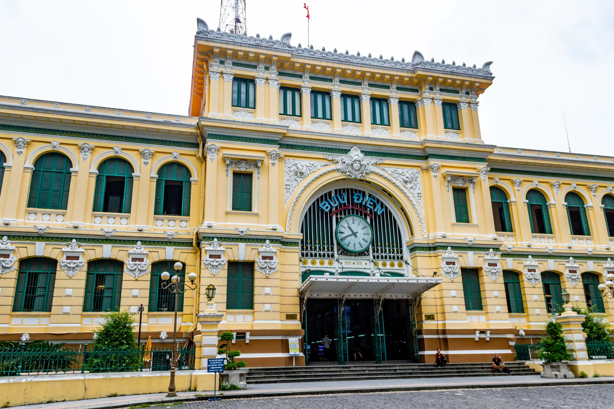 The Saigon Central Post Office, located in Ben Nghe Ward, District 1, Ho Chi Minh City, Vietnam, is seen in the photo. Photo: Tran Hong Ngoc / Tuoi Tre