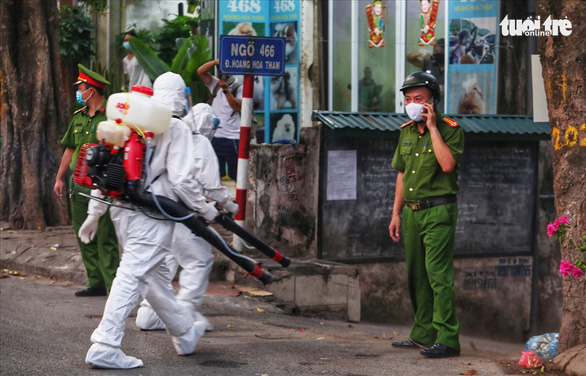 Quick test shows Vietnamese man positive for COVID-19 after leaving Hanoi for Japan