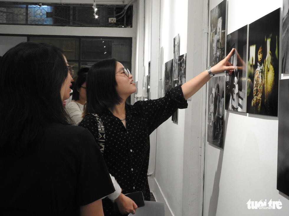 German photographer's exhibition a snapshot of Hanoi from 1967 to 1975