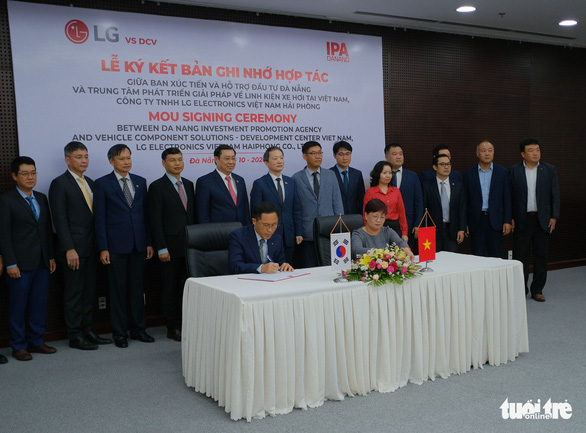 LG to build new R&D center for vehicle component solutions in Da Nang