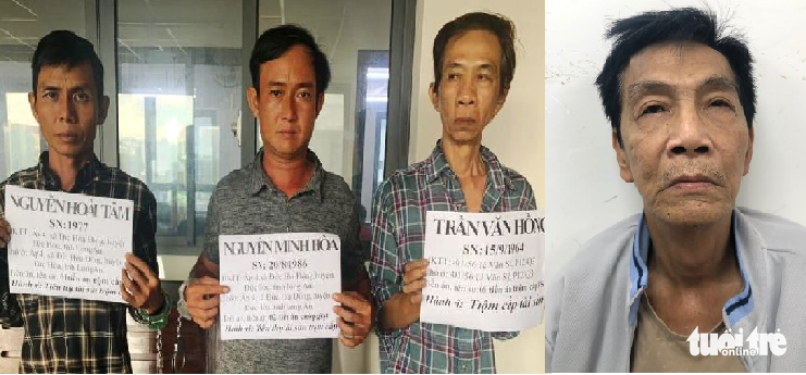 Motorbike theft ring busted in Ho Chi Minh City