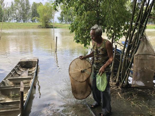 Mekong Delta fishermen craving fish in floating season