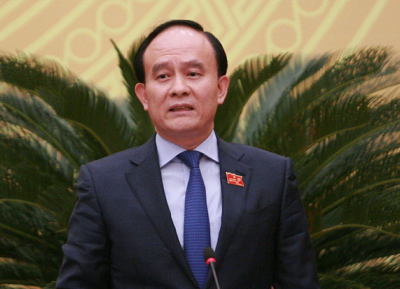 Nguyen Ngoc Tuan, deputy secretary of the Hanoi Party Committee for the 2020-25 tenure. Photo: Nam Tran / Tuoi Tre
