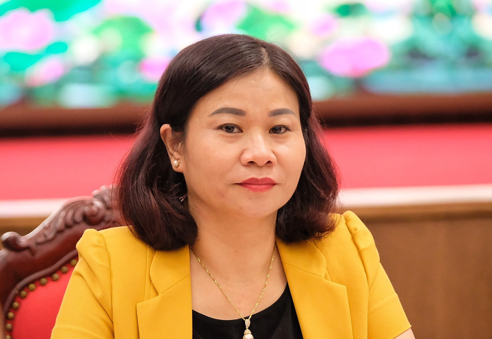 Nguyen Thi Tuyen, deputy secretary of the Hanoi Party Committee for the 2020-25 tenure. Photo: Nam Tran / Tuoi Tre