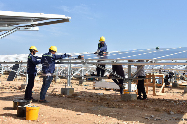 Southeast Asia's biggest solar farm connected to Vietnam's national grid