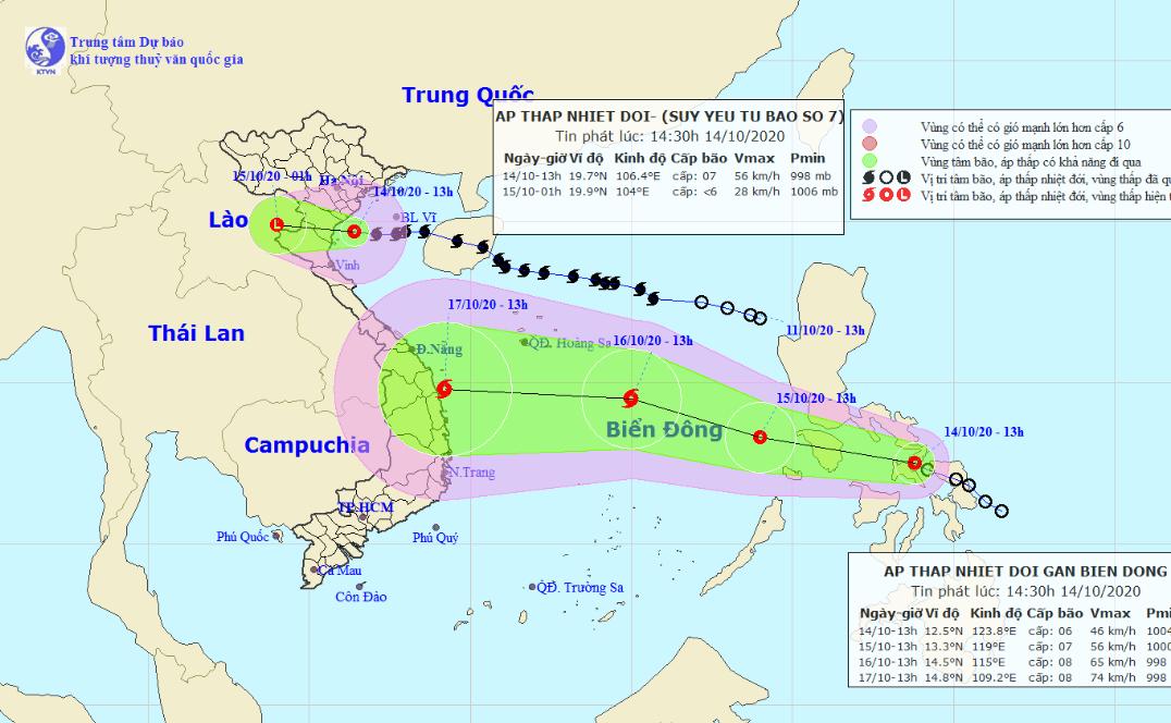 Storm Nangka downgrades, new tropical depression on way to East Vietnam Sea