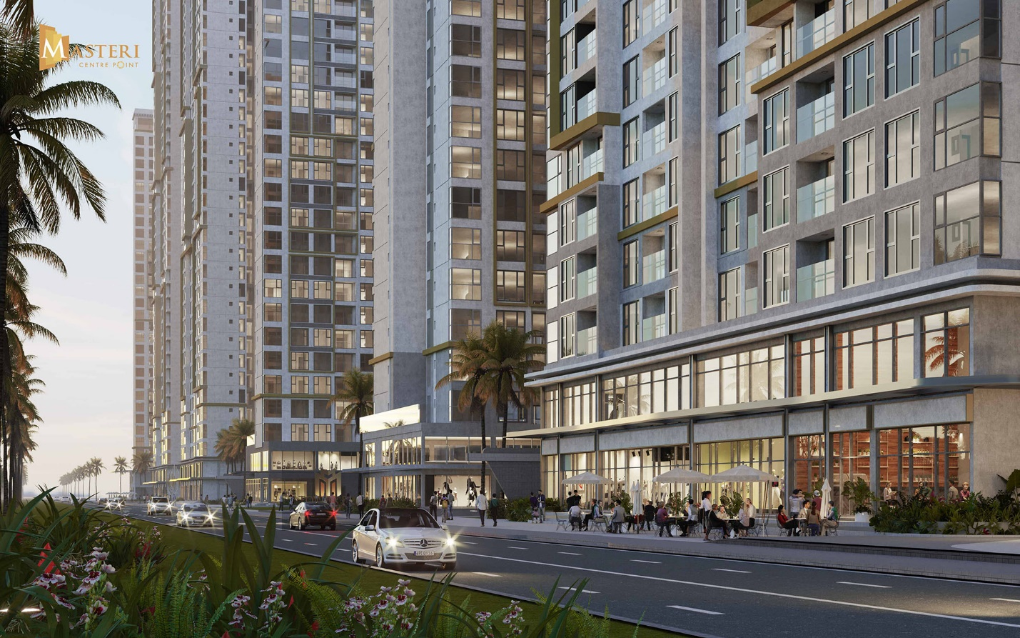 Masteri Centre Point is home to many exclusive residential benefits.