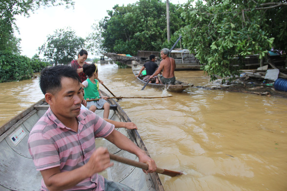 Small boat saves lives in central Vietnam