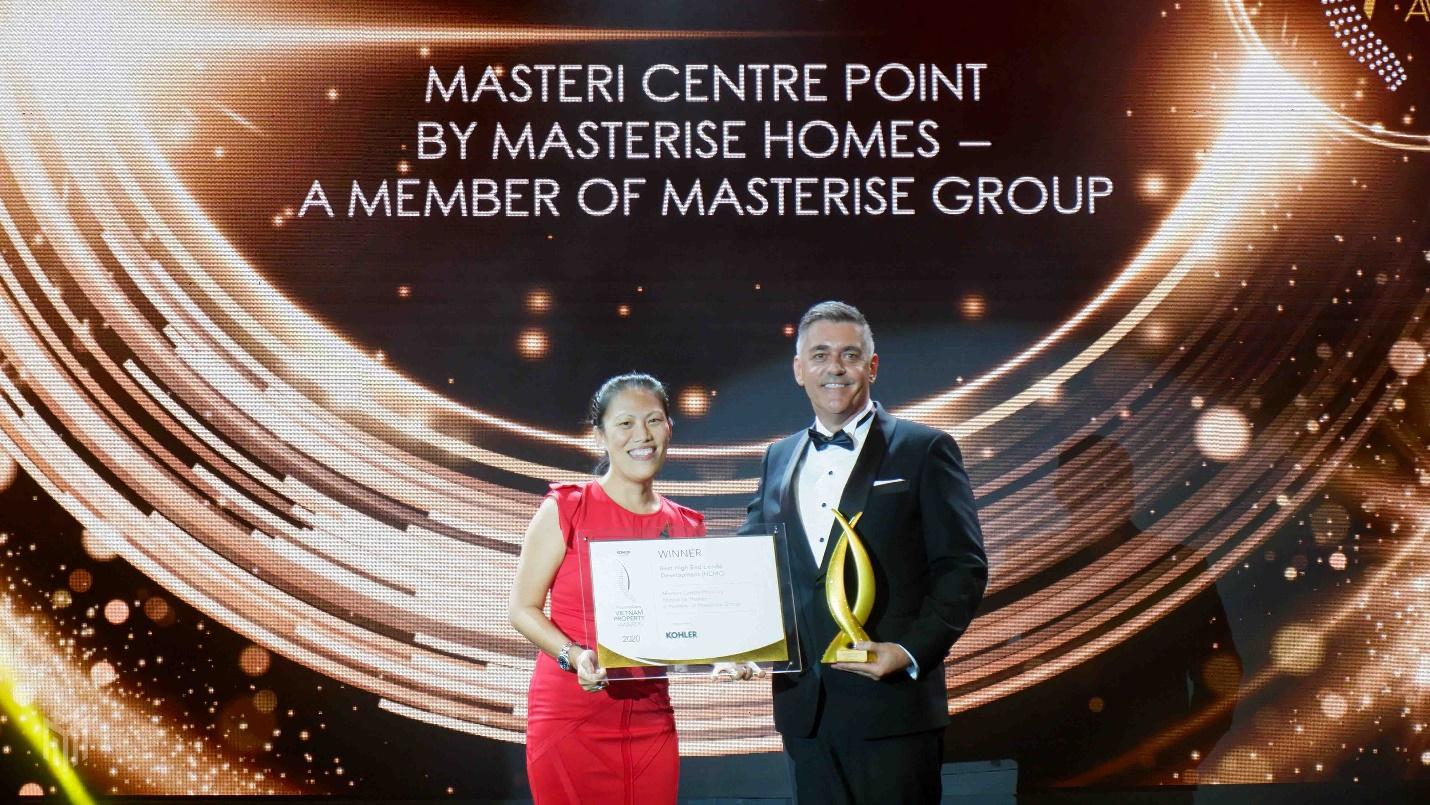 Masteri Centre Point wins at PropertyGuru Vietnam Property Awards 2020