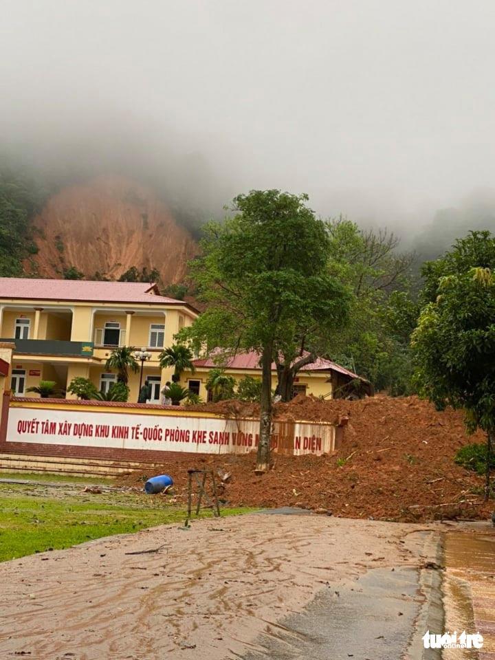 The headquarters of Economy-National Defense Delegation No.337 in Quang Tri Province, Vietnam. Photo: Tuoi Tre Contributor