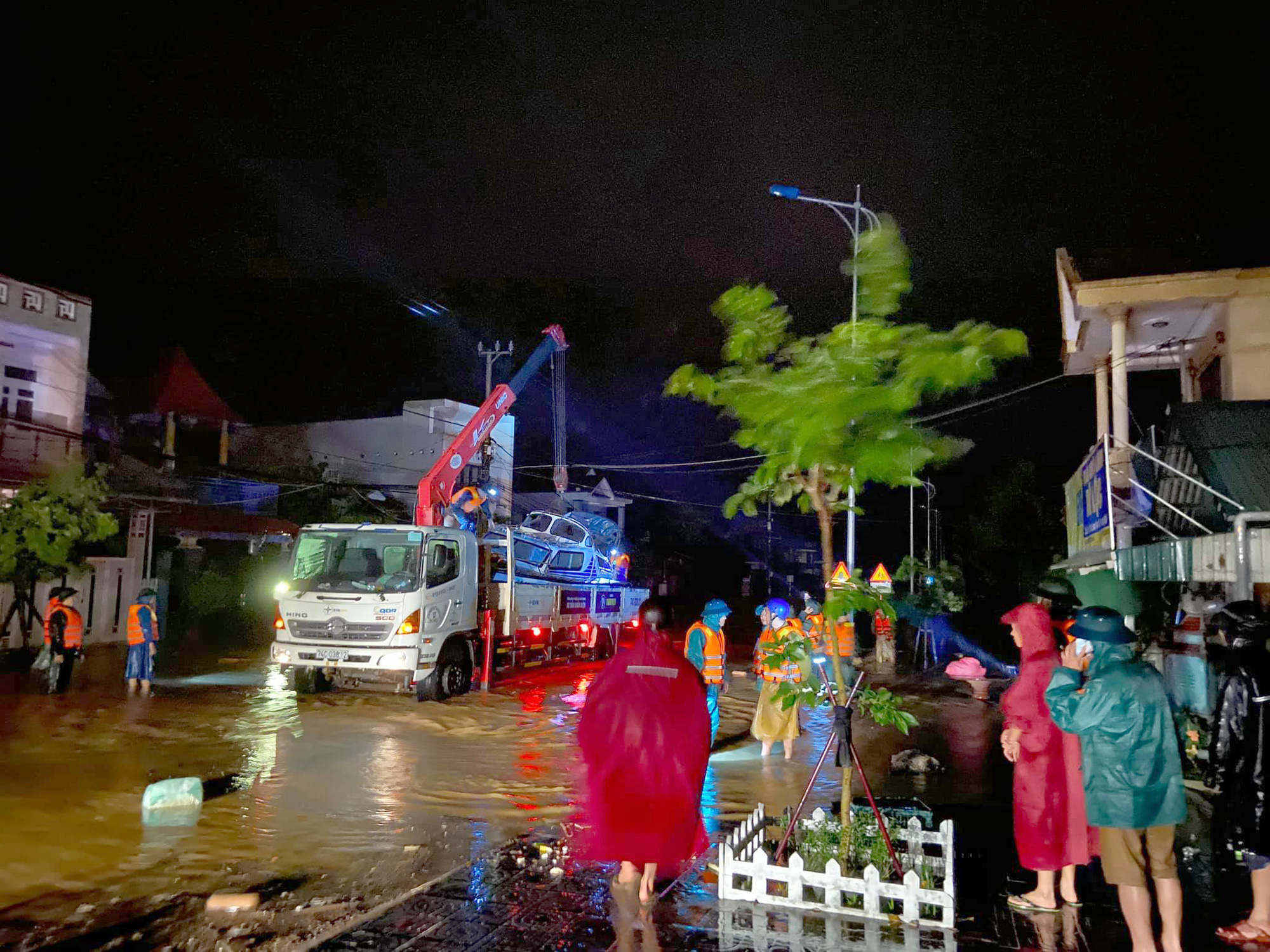 Residents seek help on Facebook as floods submerge houses in central Vietnamese province