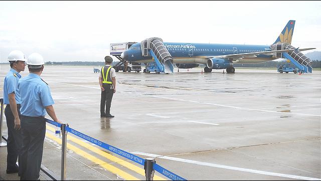 Second phase of aircraft apronexpansion project begins at Da Nang airport