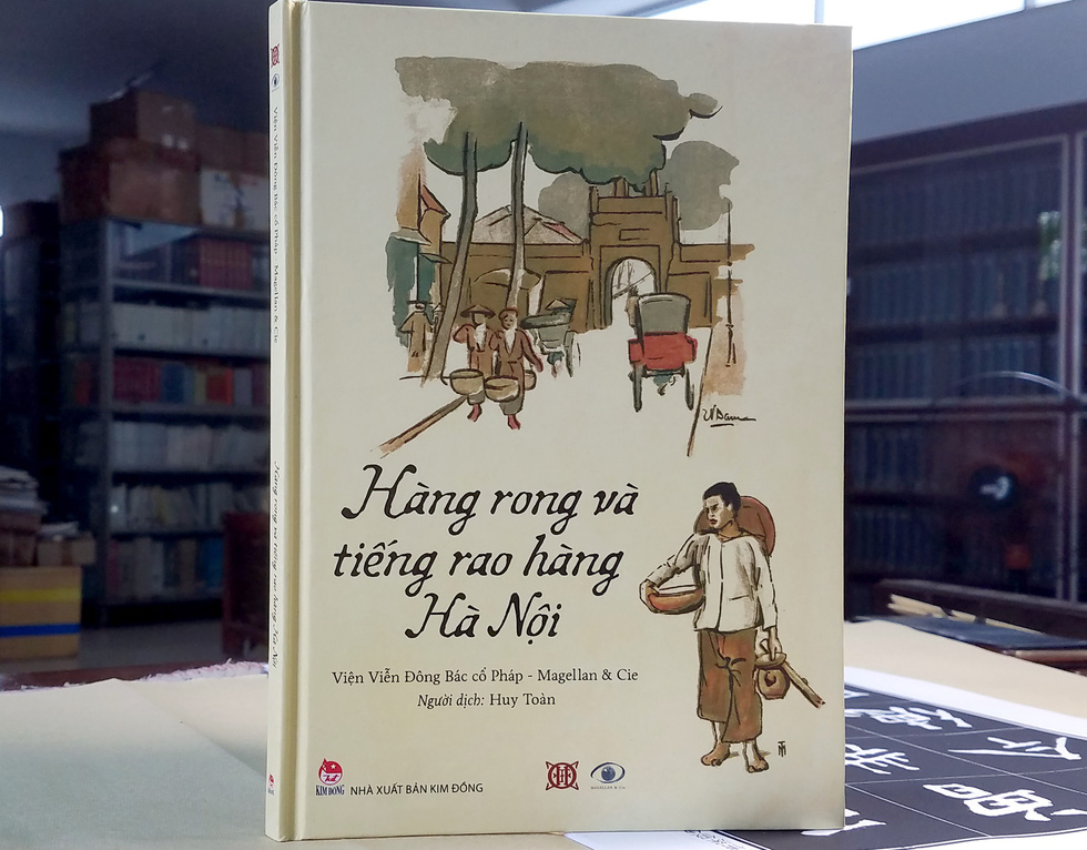 Art book a nostalgia stroll on early-20th-century Hanoi peddlers and their cries