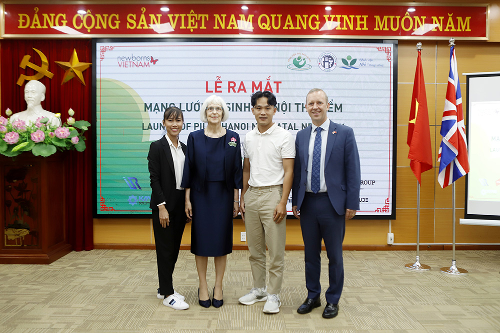 The logo competition successfully inspired the local design community to support newborn babies in Vietnam.