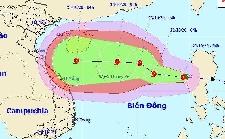 Storm Saudel enters East Vietnam Sea, heads to central provinces