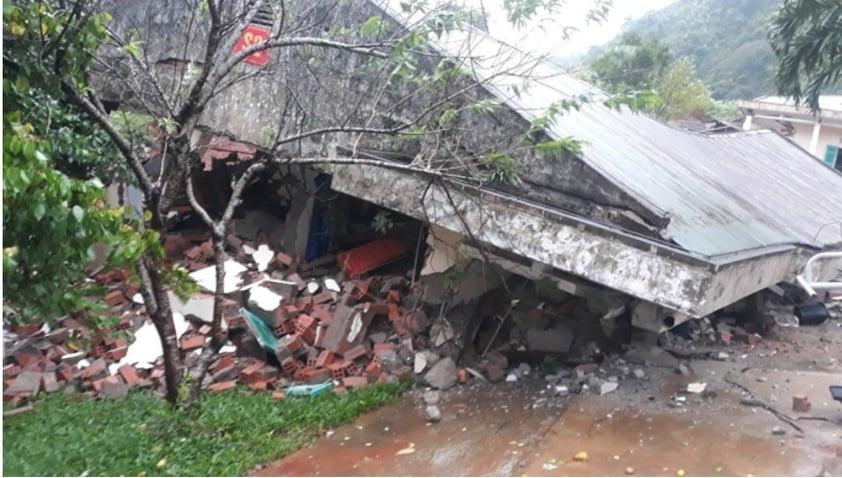 Border guard officers safe following massive landslides in central Vietnam