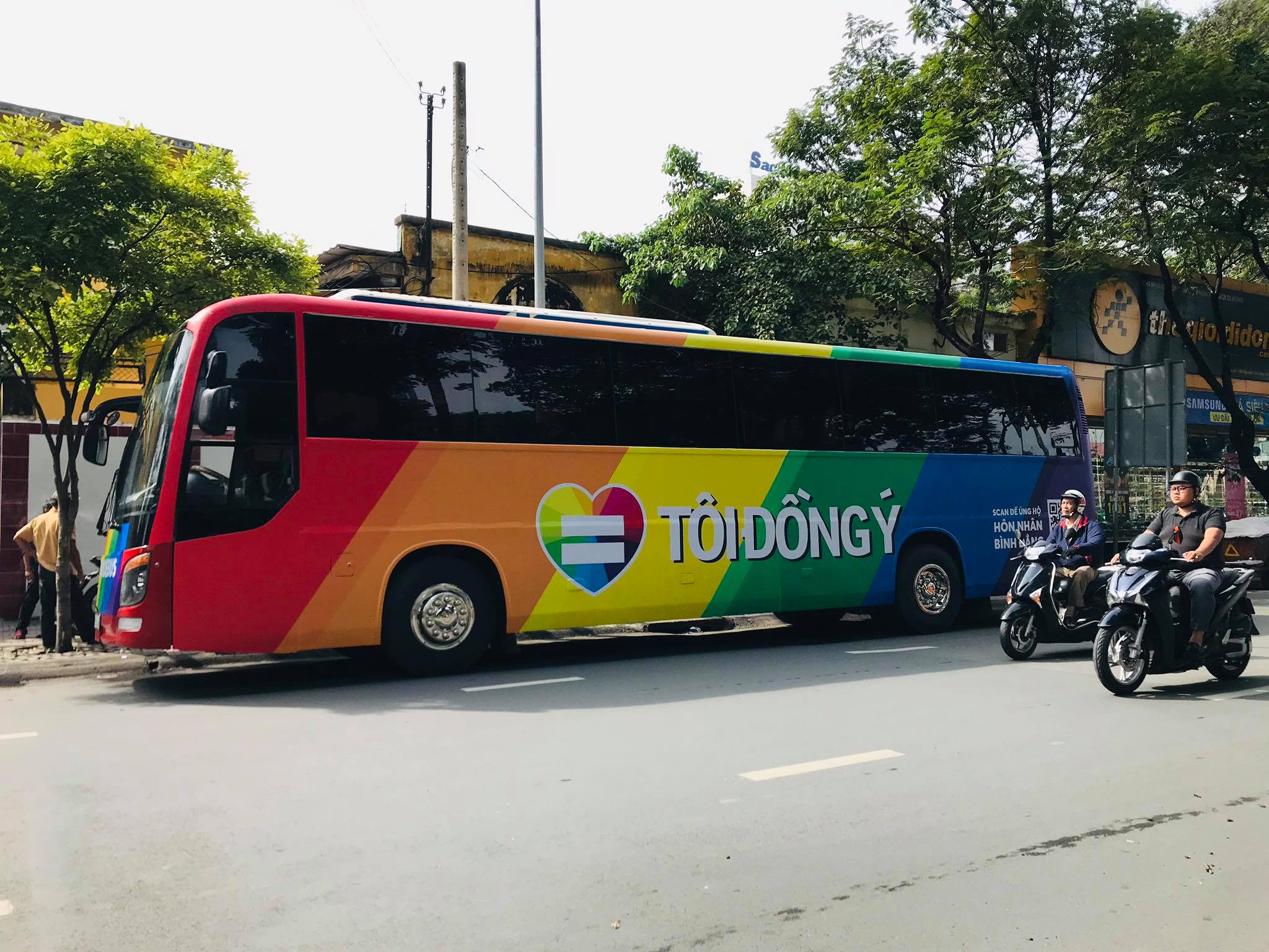 VietPride Ho Chi Minh City's annual parade switches to bus over COVID-19 concerns
