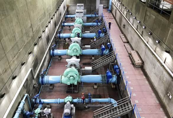 Six districts in Ho Chi Minh City to have water supply cut, lowered for maintenance