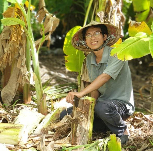 Vietnamese man puts heart into forest gardening to benefit locals