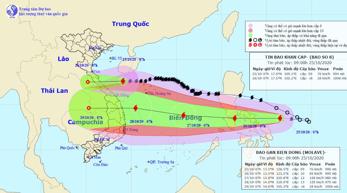 Vietnam braces for new storm as Saudel nears central provinces