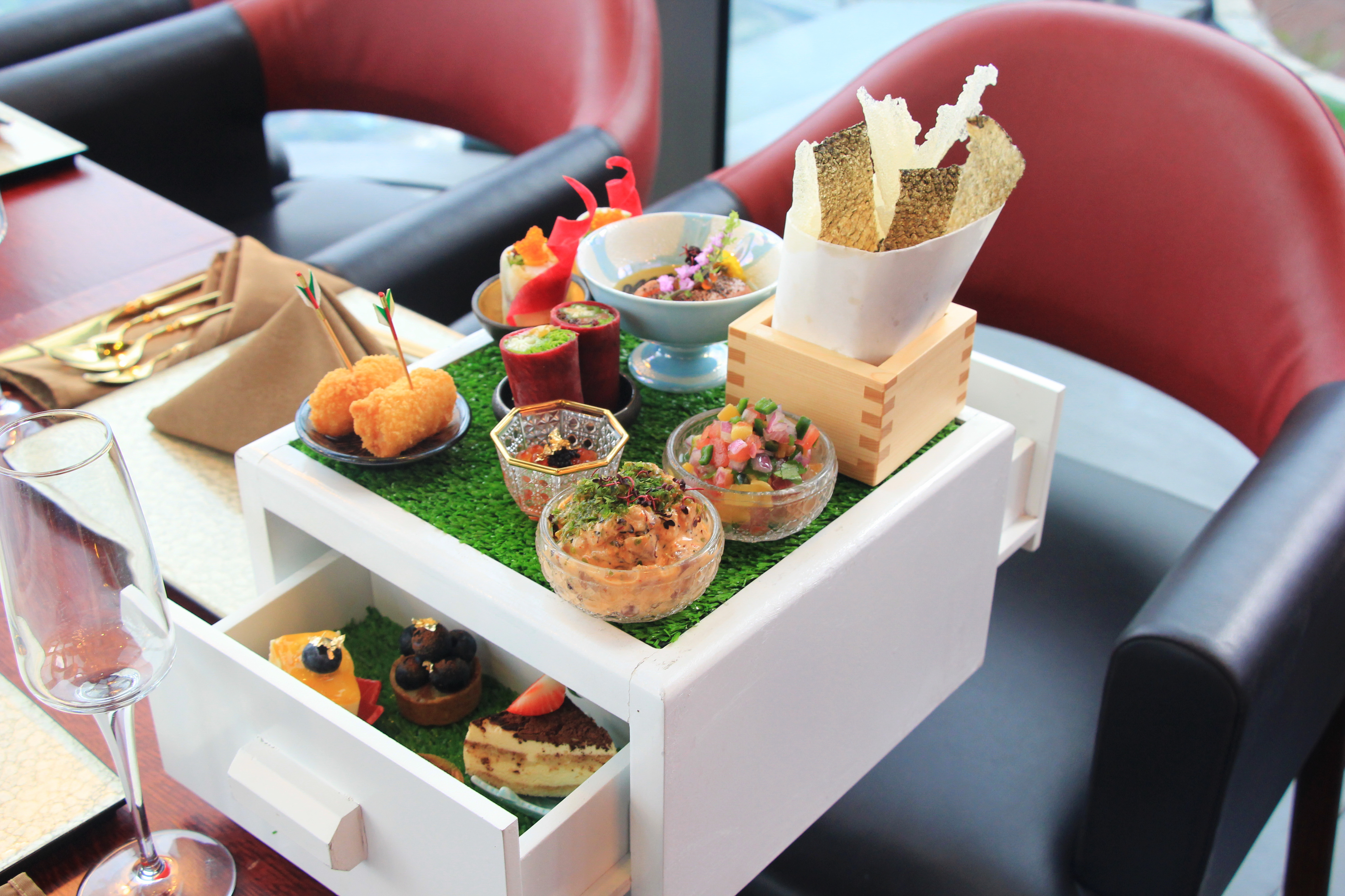 High Tea in The Sky: An afternoon tea in Vietnam's tallest building