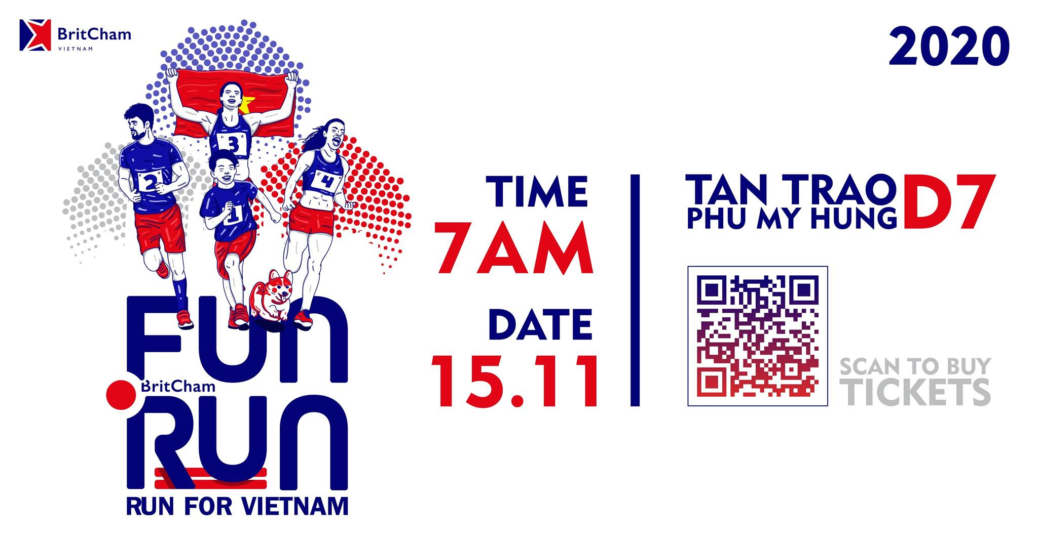 Fun Run 2020 will take place on Sunday, November 15, 2020.