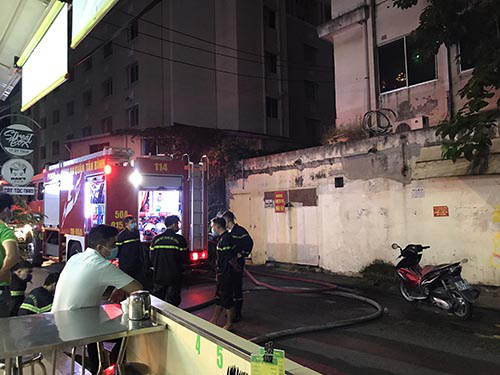 Foreigners rescued from hotel fire in Ho Chi Minh City