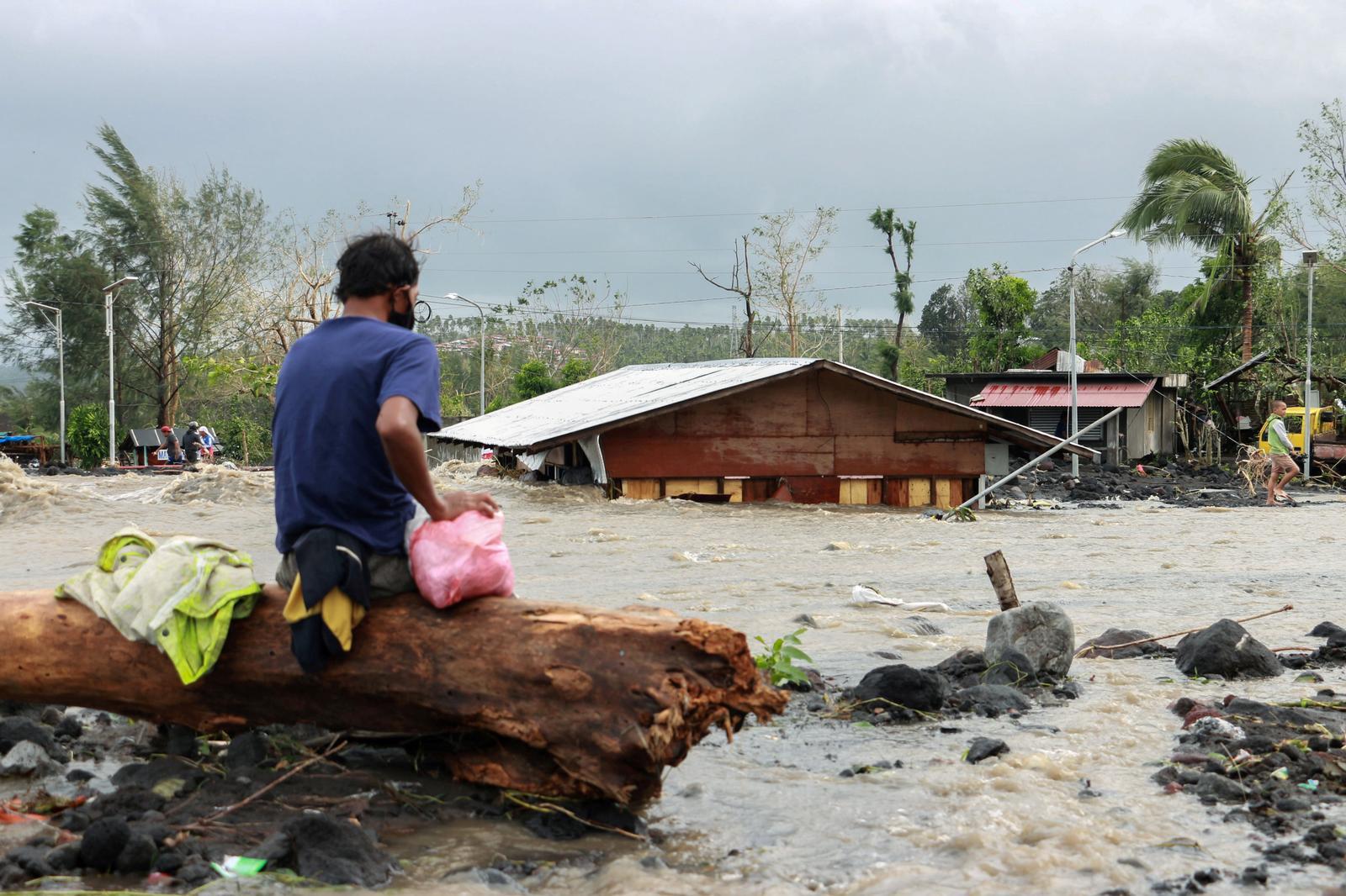 Ten dead, three missing as 2020's strongest typhoon slams Philippines