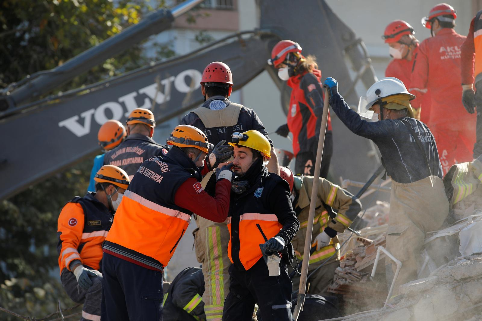 Three-year-old rescued from rubble, Turkey quake death toll hits 81