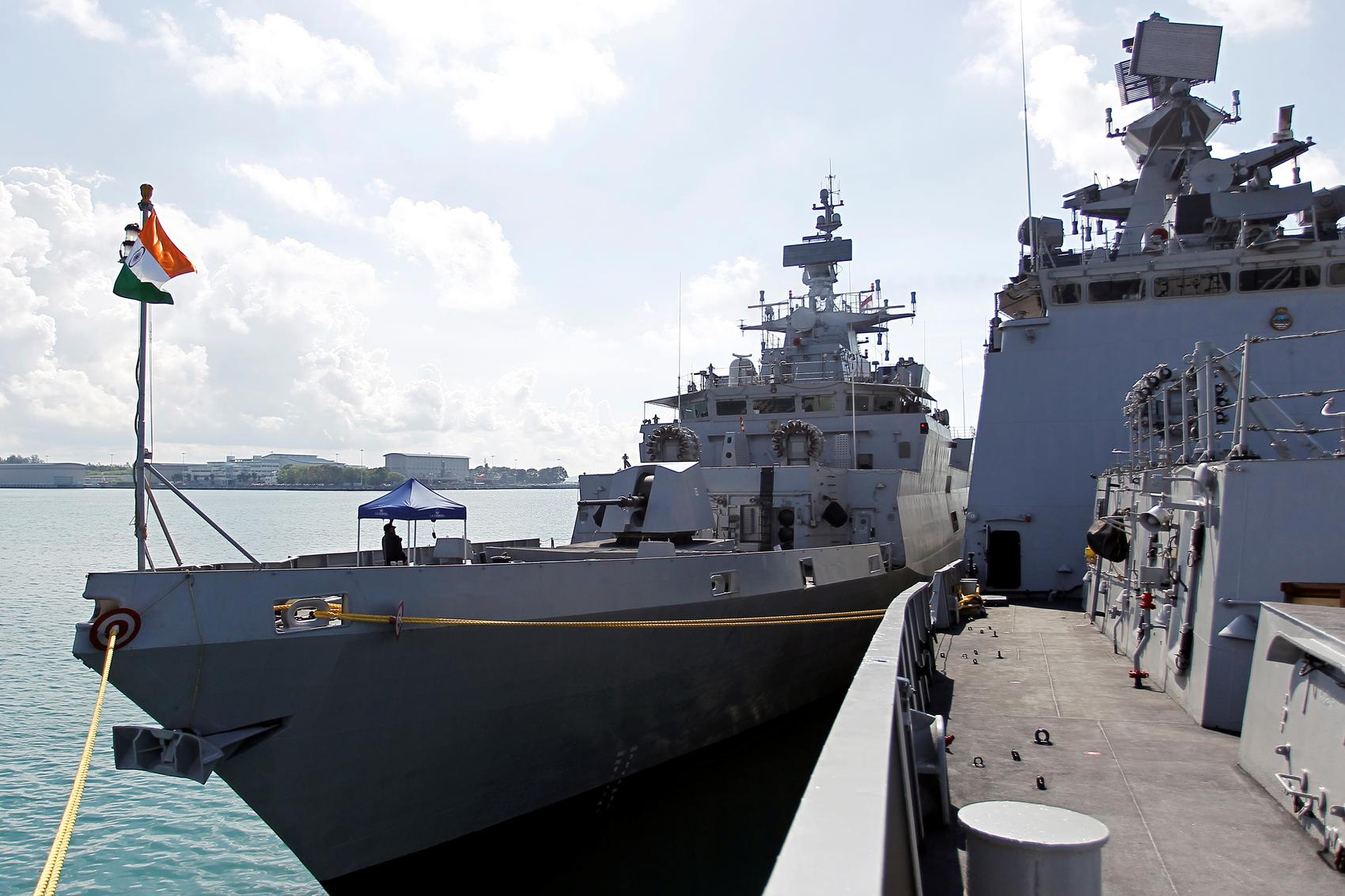 India, U.S., Japan and Australia kick off large naval drills