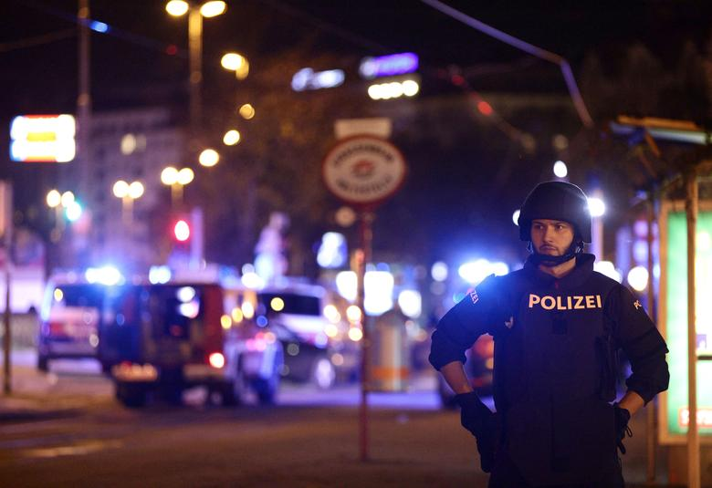 Two arrested after four killed in suspected Islamist attack in Vienna