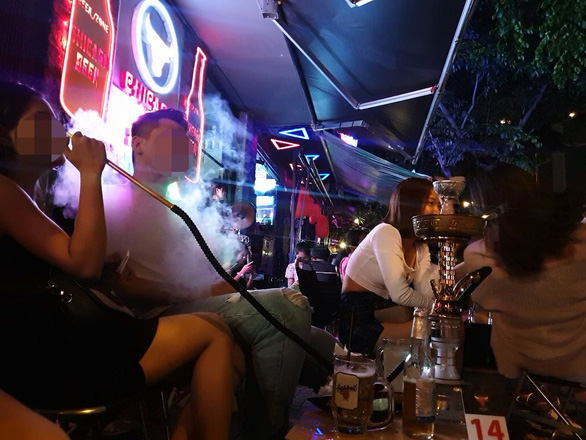Ho Chi Minh City police rein in noisy beverage joints on Pham Van Dong Boulevard