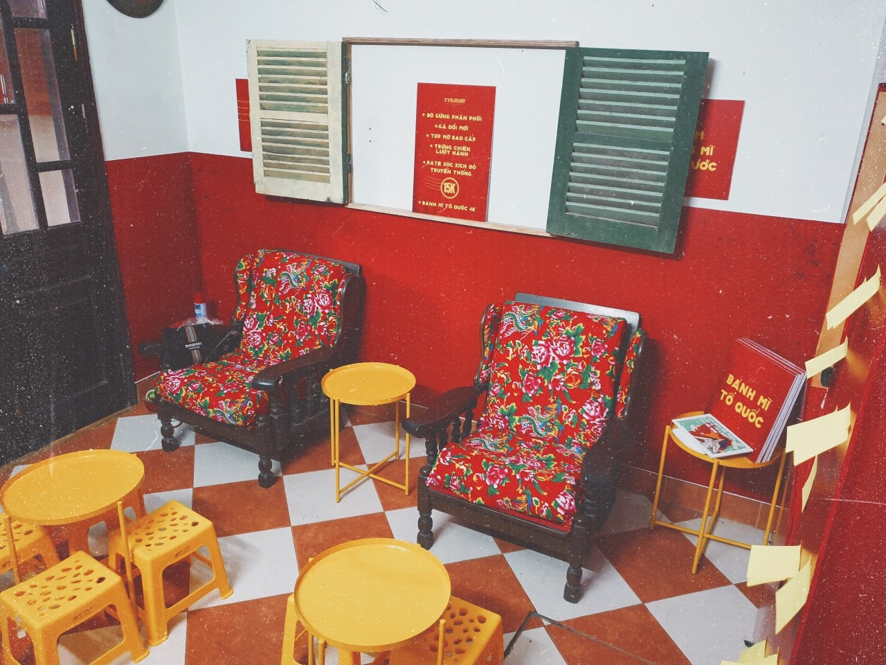A corner at the Cyburger by Homekekery in Hanoi. Photo: Supplied
