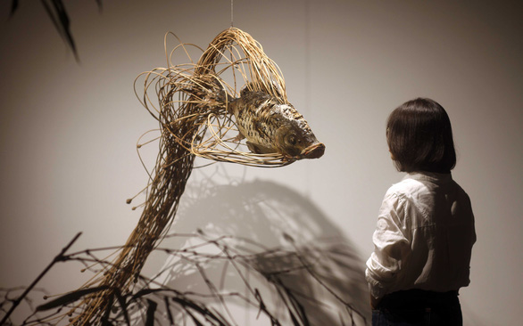 Vietnamese artist elevates rattan, bamboo in contemporary art installation