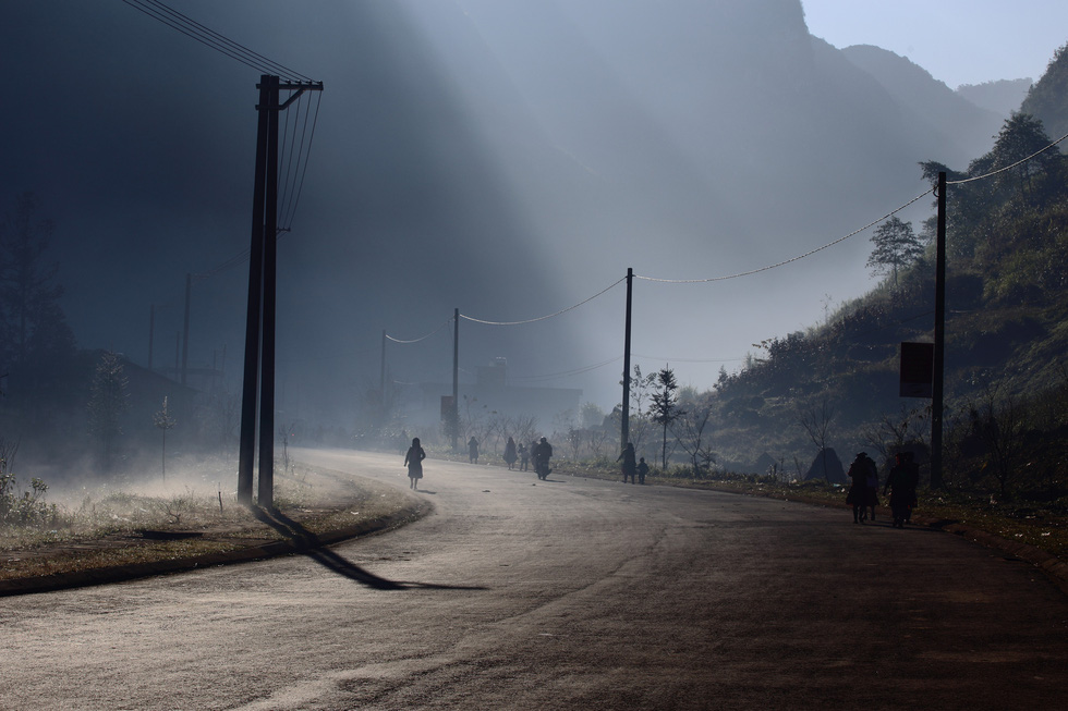 Morning lights in the northwest region of Vietnam is seen in a photo captured by Thibault Clemenceau