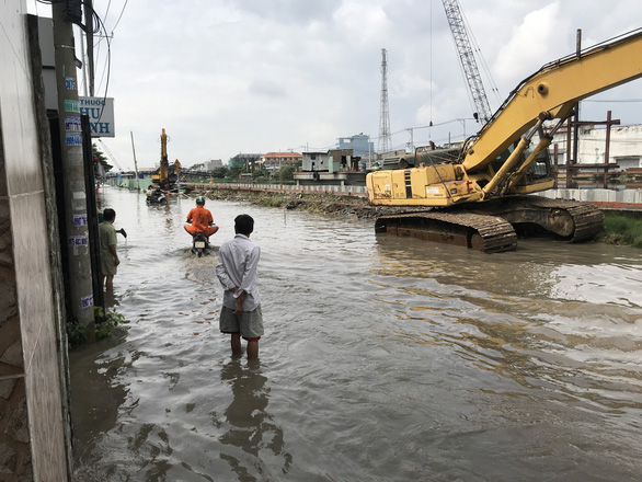 High tide to sink parts of Ho Chi Minh City next week