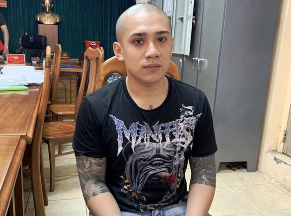 Suspect Mai Nguyen Xuan Thanh is seen in this photo supplied by Ho Chi Minh City police.