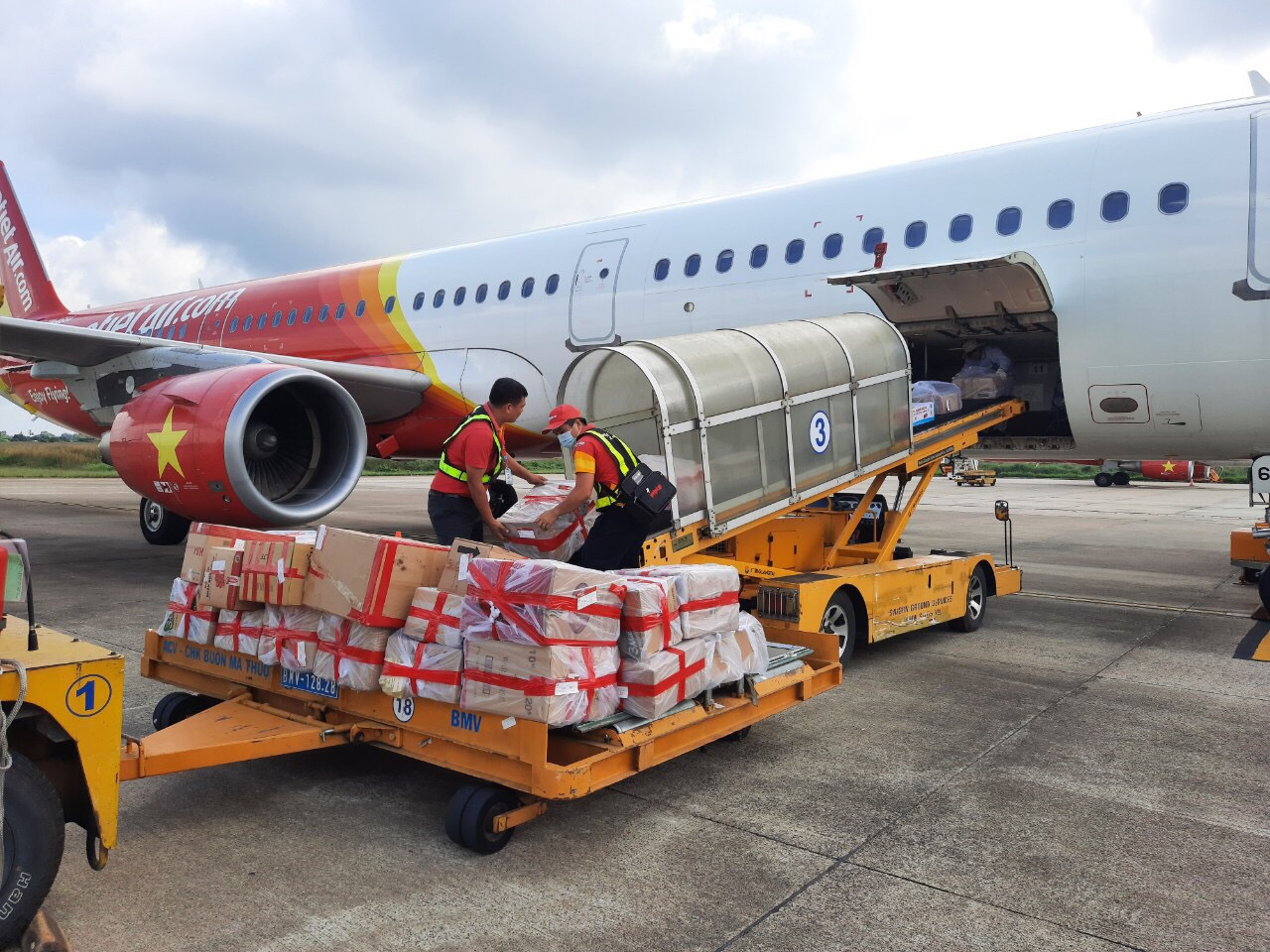 Vietnamese carrier, UPS join hands for global cargo transportation from Asia