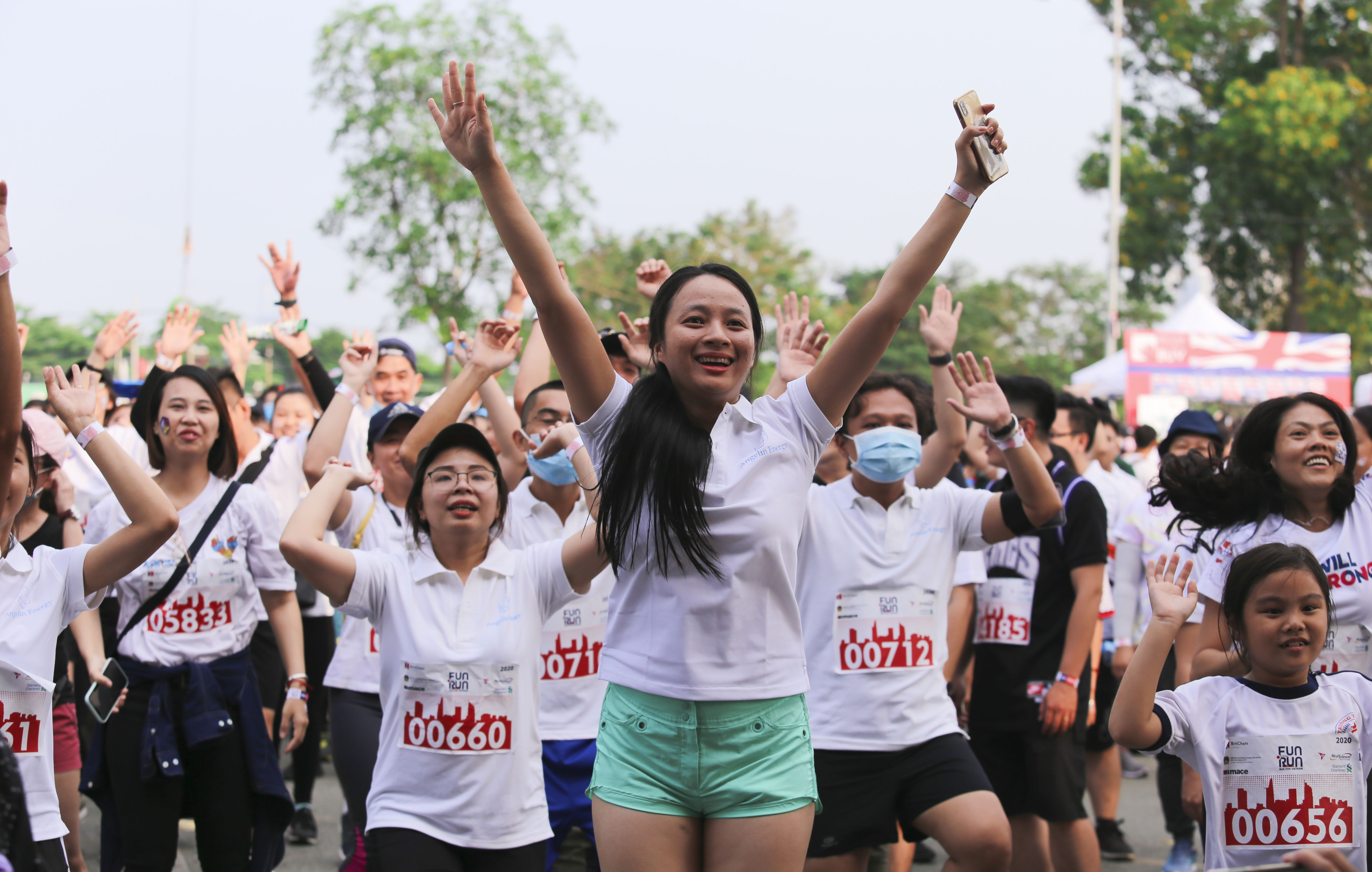 BritCham Fun Run raises $47,600 to help needy people in Vietnam
