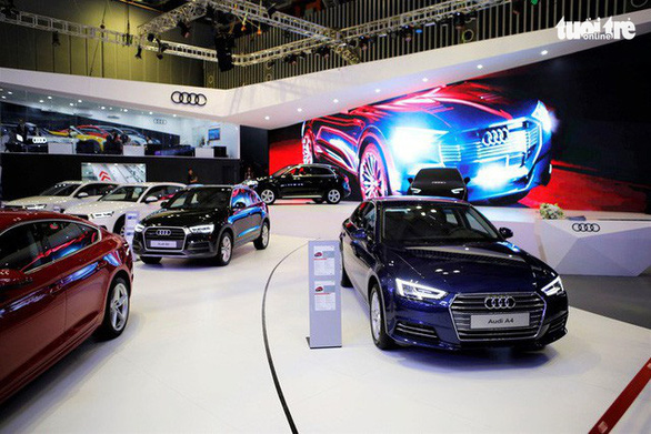 Audi recalls cars in Vietnam over faulty engine compartment rubber