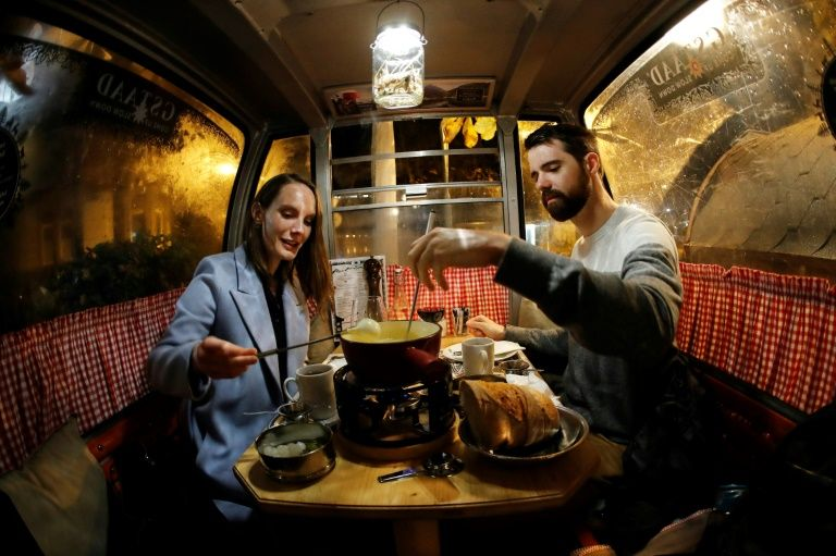 Swiss appear to be eating more fondue at home as a result of the pandemic. Photo: AFP