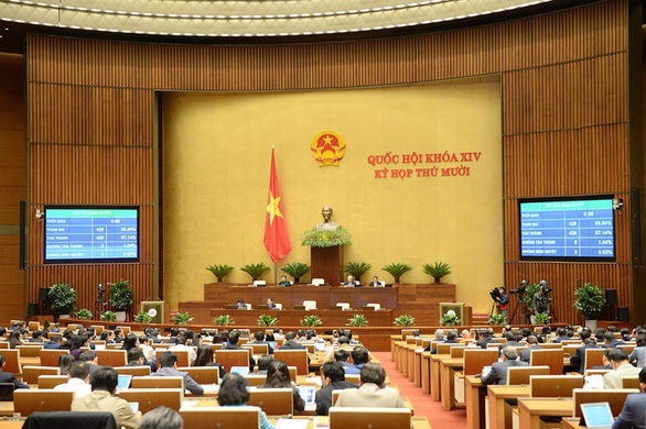 Proposed division of Vietnam's law on road traffic rejected by most NA deputies