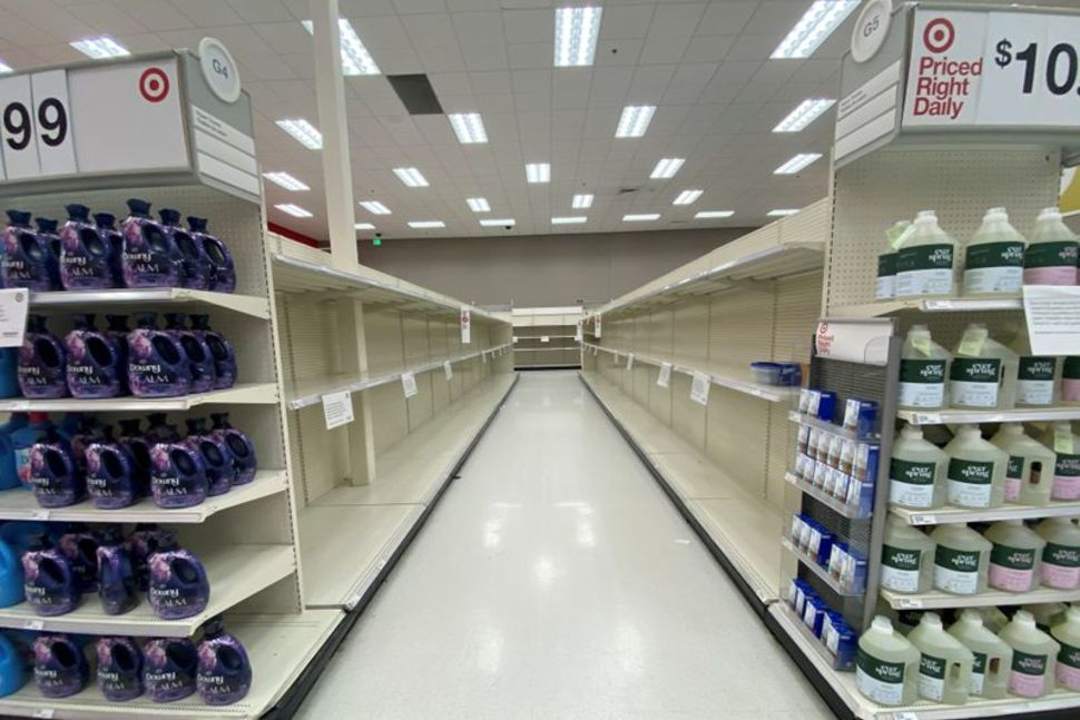 Panic buying of toilet paper hits U.S. stores again with new pandemic restrictions