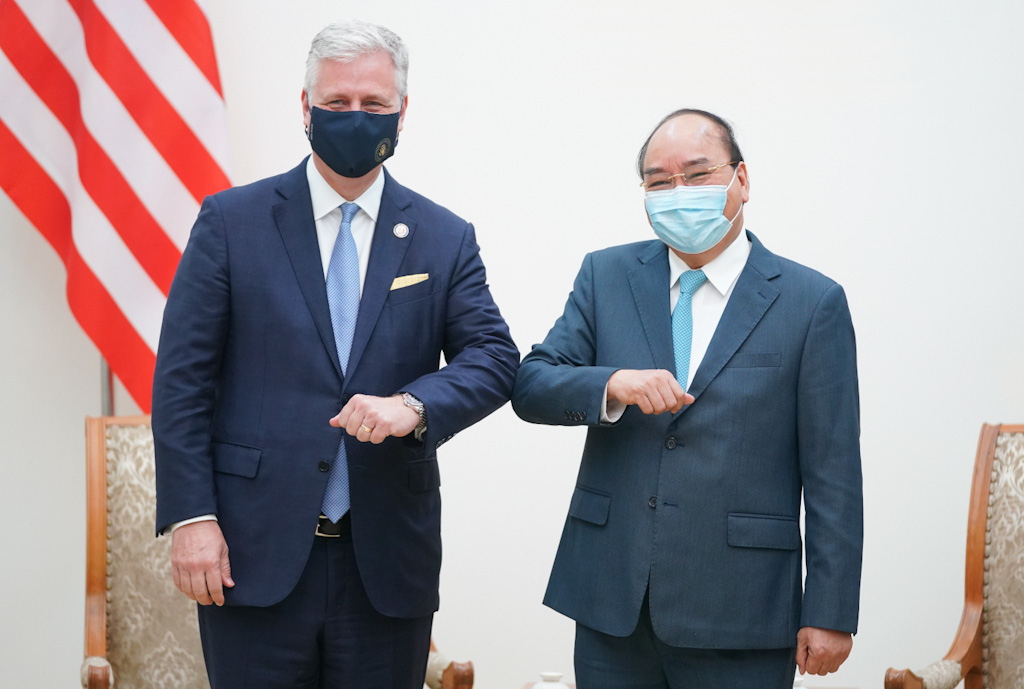 Vietnam premier, US national security adviser talk bilateral ties