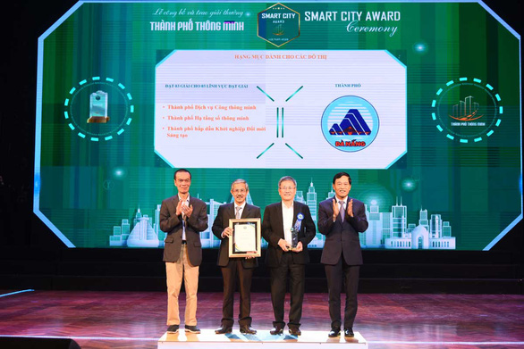 Da Nang honored for smart city initiatives