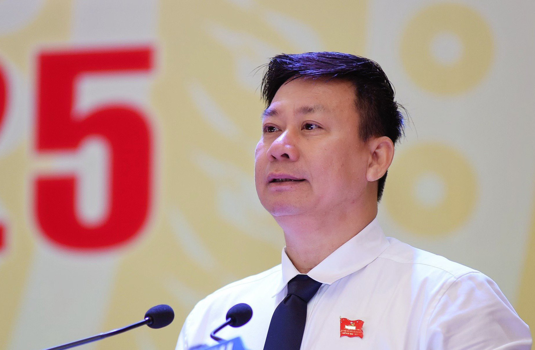 Nguyen Thanh Ngoc, chairman of the People's Committee in Tay Ninh Province, Vietnam. Photo: Tuoi Tre