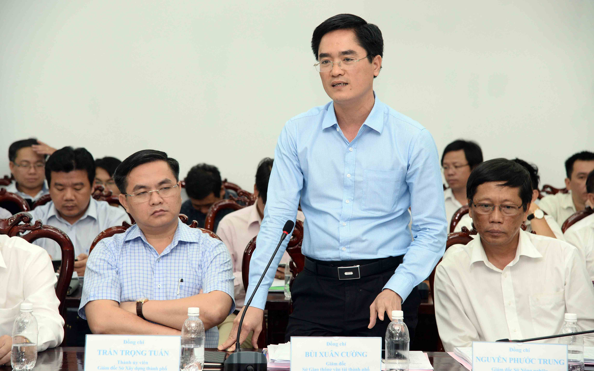 Tran Quang Lam, director of the Ho Chi Minh City Department of Transport