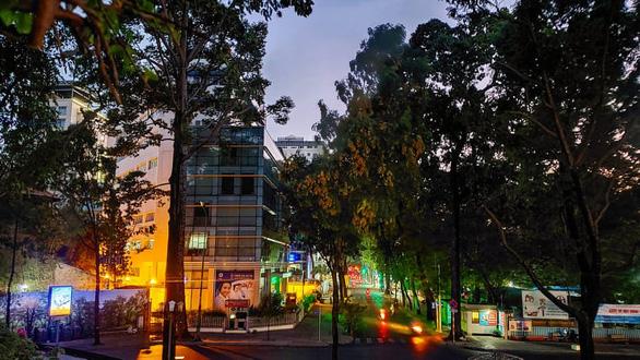 A view of Vo Van Tan Street from Ho Con Rua at night. Photo: Gia Tien / Tuoi Tre