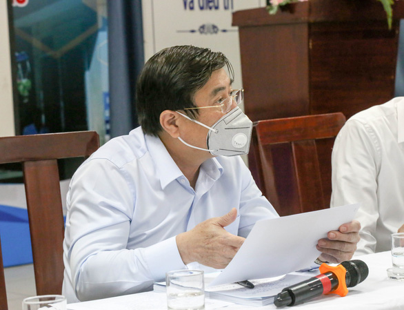 Ho Chi Minh City chairman proposes criminally charging steward linked to local coronavirus transmission